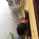 Lắp giàn phơi thông tại ban công có cục nóng điều hòa nhà chú Minh Hà Huy Tập