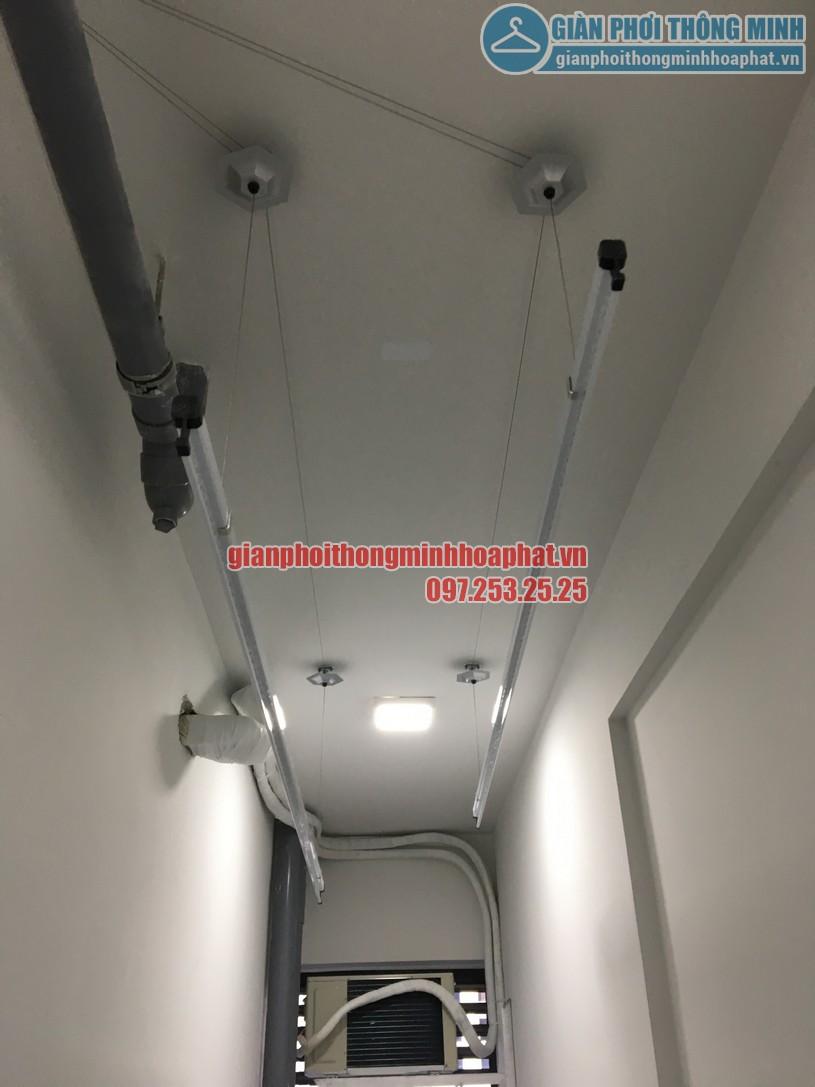 Lắp giàn phơi thông minh nhà bác Sơn chung cư A1CT2 Linh Đàm-03