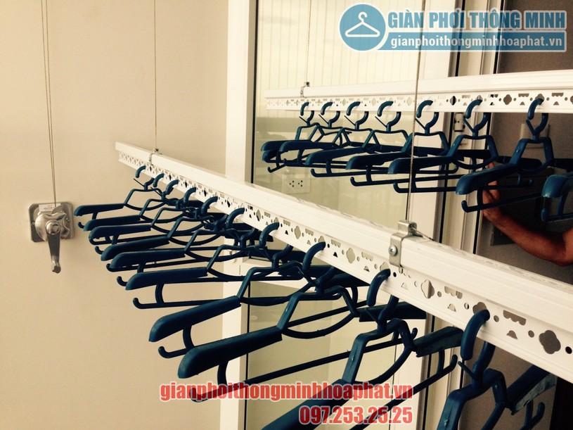 Lắp giàn phơi tại ban công nhà chị Ngân khu LK02, Vinhomes Thăng Long-03