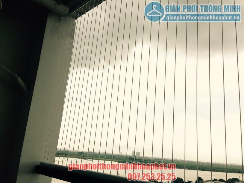 Lắp giàn phơi tại ban công nhà chị Ngân khu LK02, Vinhomes Thăng Long-05