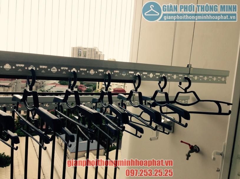 Lắp giàn phơi tại ban công nhà chị Ngân khu LK02, Vinhomes Thăng Long-06