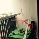 Lắp đặt bộ HP999B nhà cô Tám tòa G2 chung cư Five Star số 2 Kim Giang, Thanh Xuân