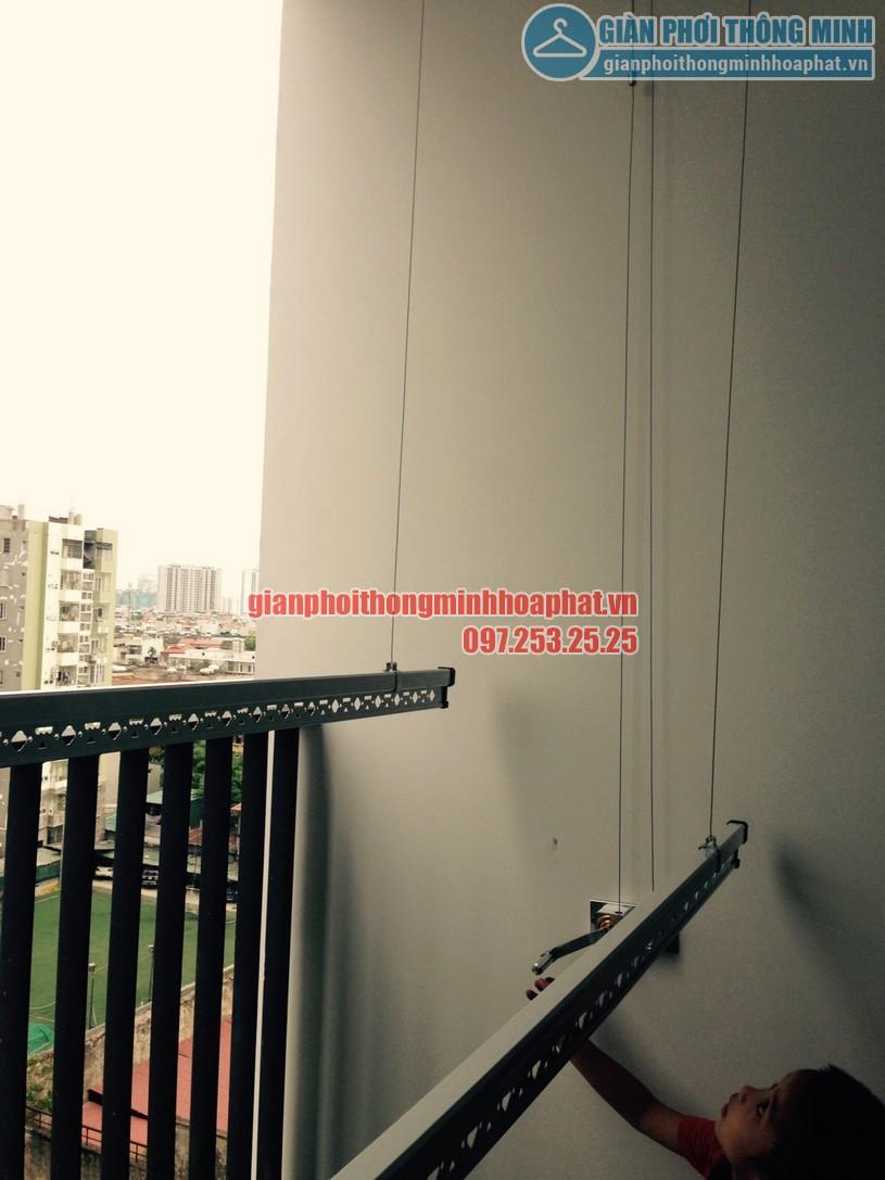 Lắp đặt bộ HP999B nhà cô Tám tòa G2 chung cư Five Star số 2 Kim Giang-05