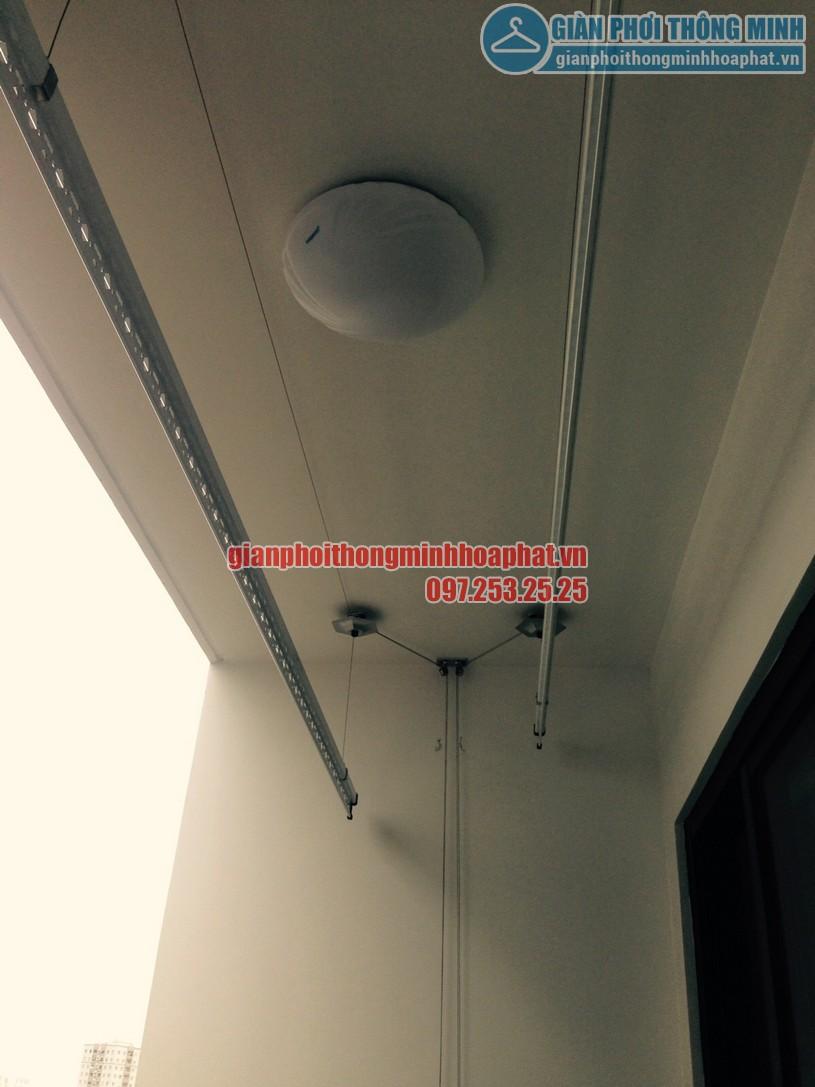 Lắp đặt bộ HP999B nhà cô Tám tòa G2 chung cư Five Star số 2 Kim Giang-06