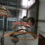 Sửa giàn phơi thông minh nhà chị Ngọc ngõ 10, đường 800A, Nghĩa Đô, Cầu Giấy