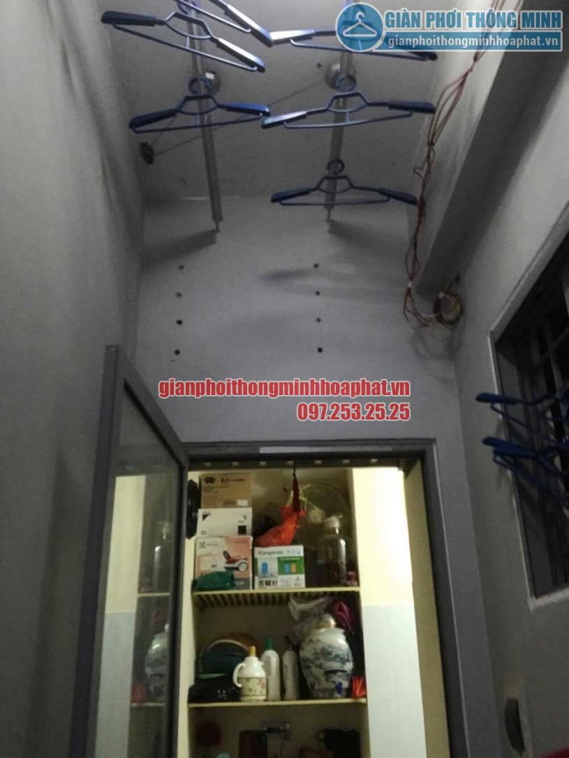 Sửa giàn phơi thông minh nhà chị Liên chung cư Mipec, Kiến Hưng, Hà Đông-07