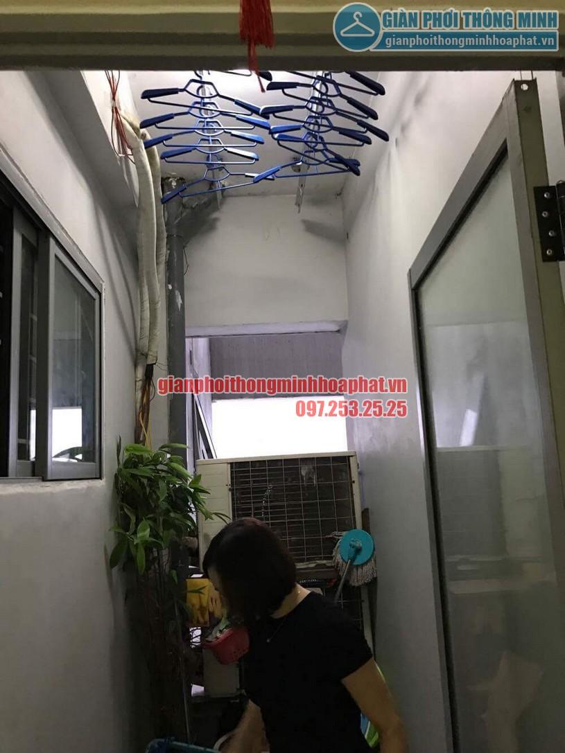 Sửa giàn phơi thông minh nhà chị Liên chung cư Mipec, Kiến Hưng, Hà Đông-06