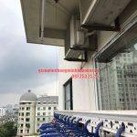 Sửa lỗi đứt dây cáp giàn phơi nhà cô Dĩnh CT2-2 khu đô thị Mễ Trì Hạ, Nam Từ Liêm