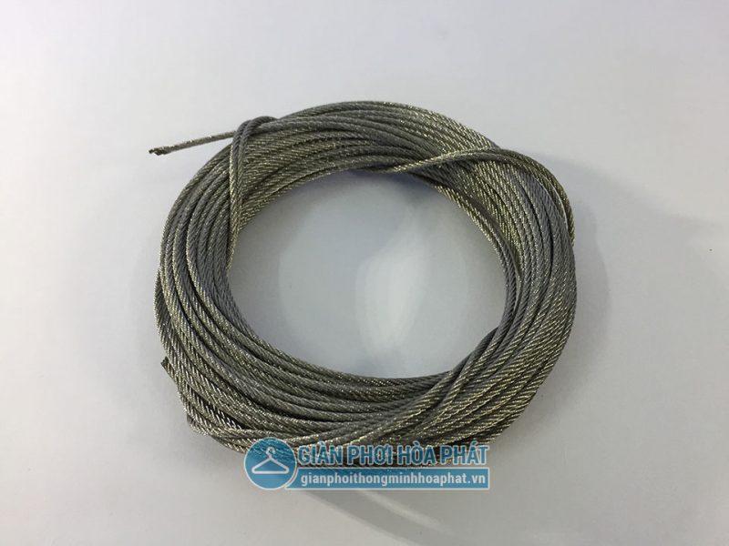 Bảng giá phụ kiện giàn phơi Hòa Phát - dây cáp inox