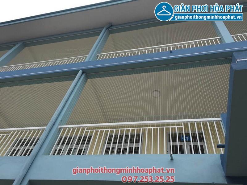 Lưới an toàn ban công Trường tiểu học Việt Hùng huyện Đông Anh