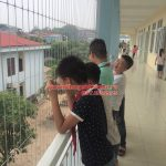 Làm lưới an toàn ban công cho Trường tiểu học Việt Hùng huyện Đông Anh