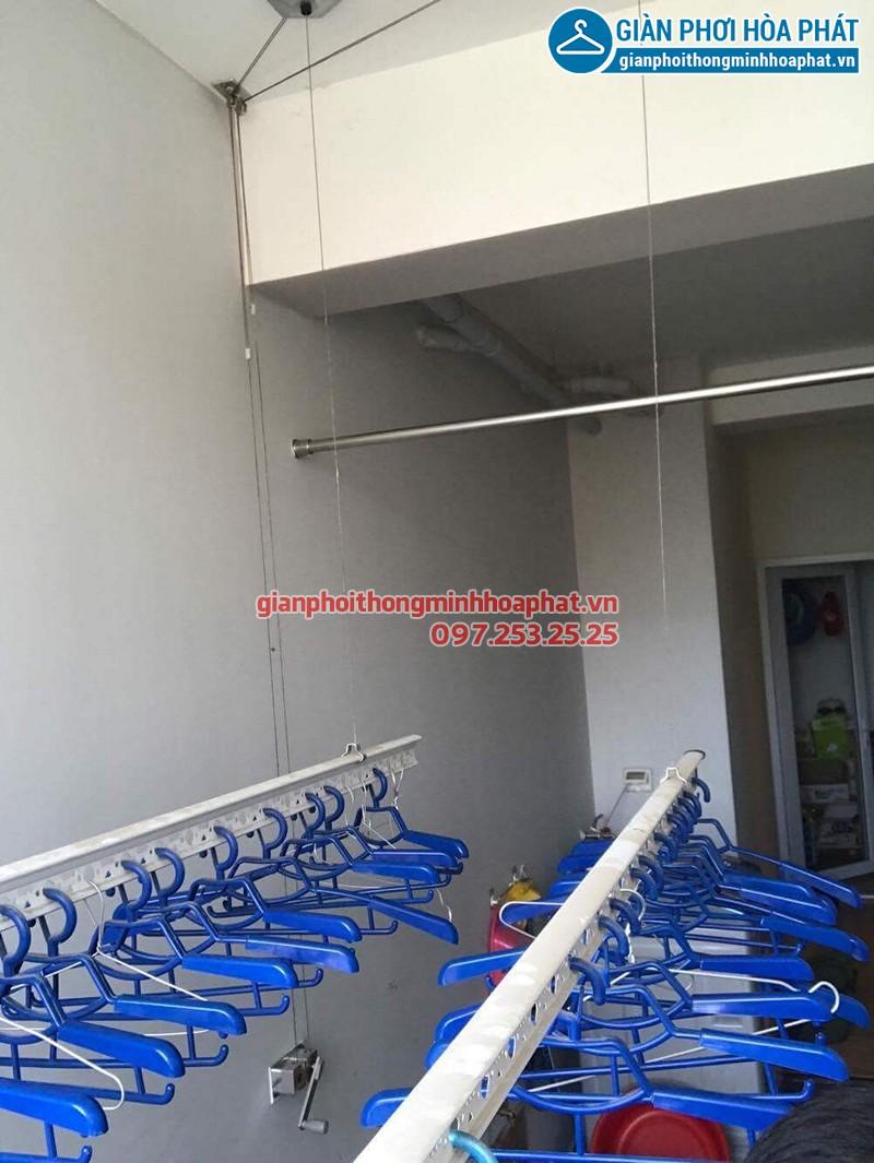Bộ giàn phơi Hòa Phát 999B nhà chị Lương, chung cư An Bình - Đồng Nai