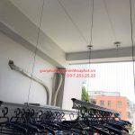 Lắp bộ giàn phơi Hòa Phát 999B nhà chị Lương, chung cư An Bình – Đồng Nai