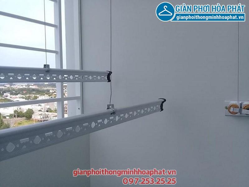 Hình ảnh thực tế bộ giàn phơi Hòa Phát 999B tại nhà anh Nam