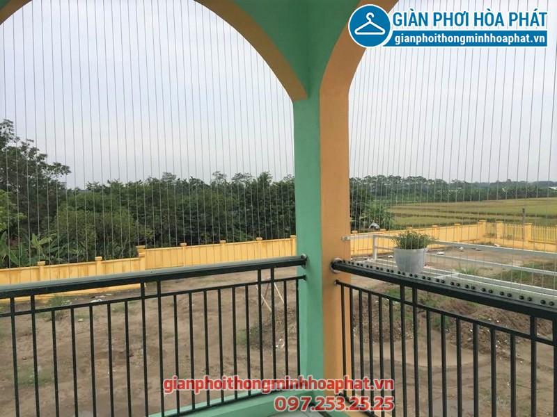Lắp đặt lưới an toàn trường mầm non Chu Minh, xã Chu Minh huyện Ba Vì