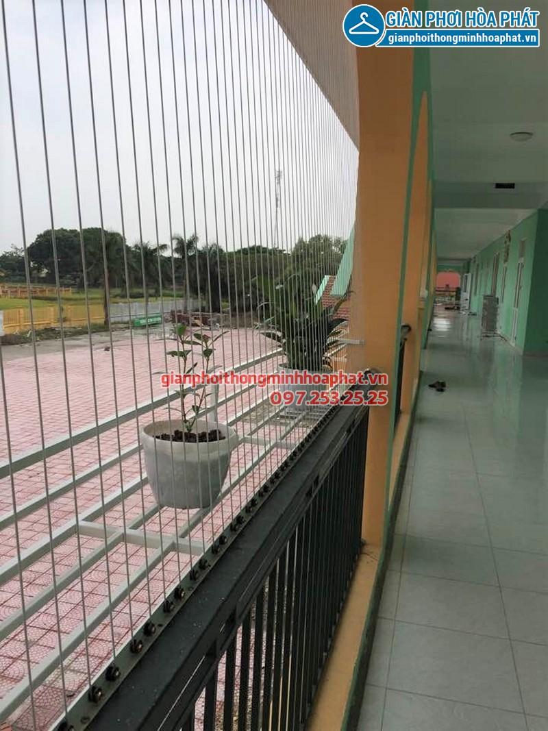 Lưới an toàn hành lang trường mầm non Chu Minh