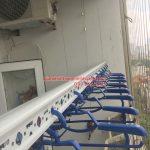 Lắp giàn phơi Đống Đa – bộ giàn phơi Hòa Phát Air 703, nhà chị Thục chung cư Sông Hồng