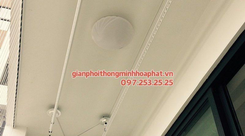 Lắp giàn phơi Thanh Xuân nhà anh Khoa tại chung cư Five Star Garden - số 2 Kim Giang