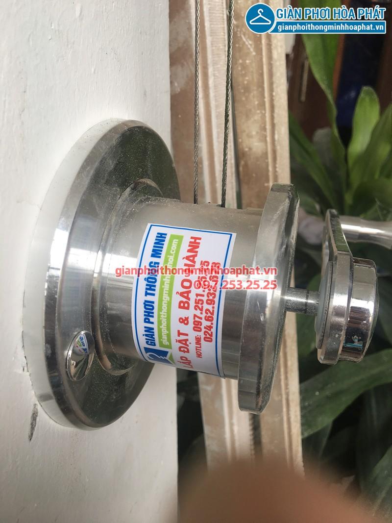Lắp giàn phơi Bến Cát, Bình Dương nhà chị Hà, bộ HP990