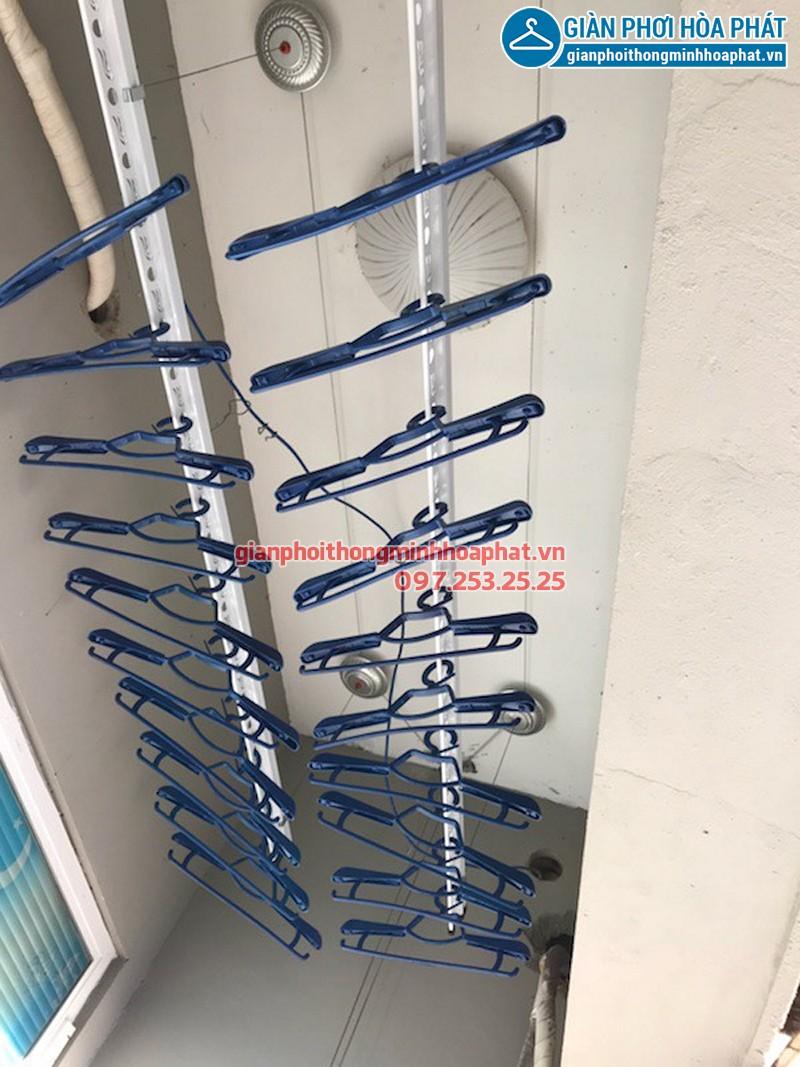 Lắp giàn phơi Hà Đông ở chung cư CT1 Ngô Thị Nhậm nhà cô Đại