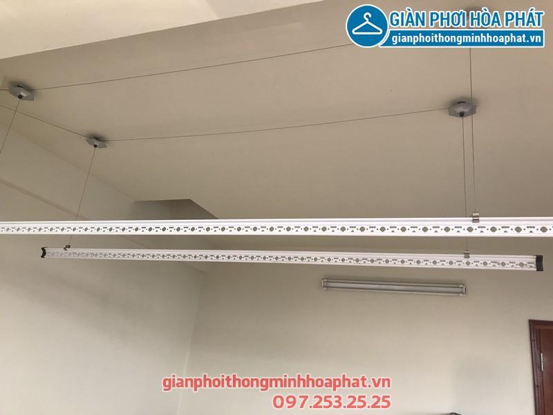 Lắp giàn phơi Hà Đông nhà chú Thuận ở ngõ 637 Quang Trung, bộ HP950