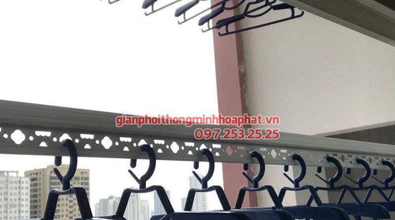 Lắp giàn phơi Hà Đông ở chung cư Usilk City tòa 101 nhà chị Mơ, bộ HP950