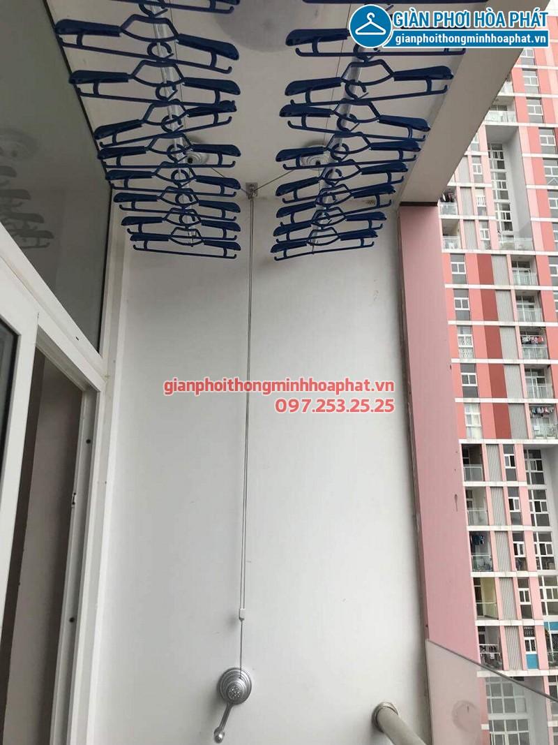 Lắp giàn phơi Hà Đông ở chung cư Usilk City tòa 101 nhà chị Mơ