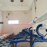 Lắp giàn phơi thông minh Hải Phòng nhà chị Huệ ở khu 97 Bạch Đằng – Hạ Lý, bộ HP703