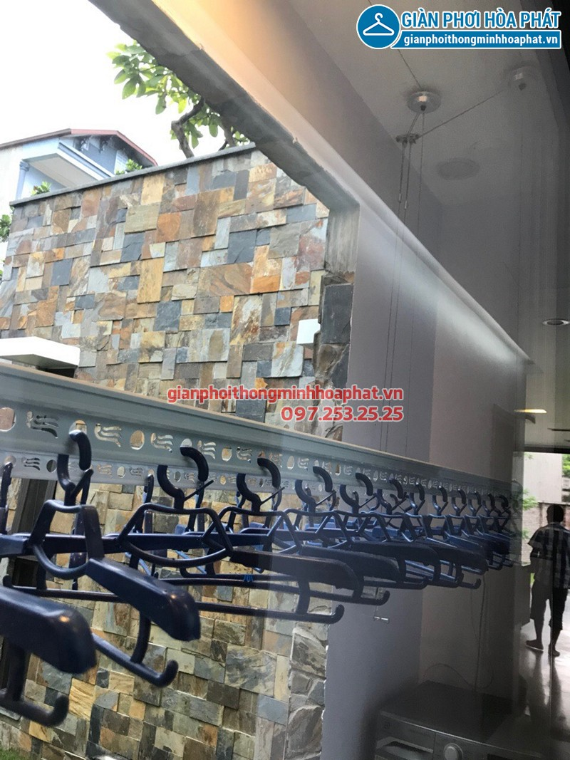 Lắp giàn phơi quận 7 TP Hồ Chí Minh nhà anh Nghĩa, bộ HP701