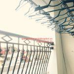 Lắp giàn phơi Cẩm Lệ, Đà Nẵng nhà chị Yến ở chung cư Phong Bắc, bộ HP950