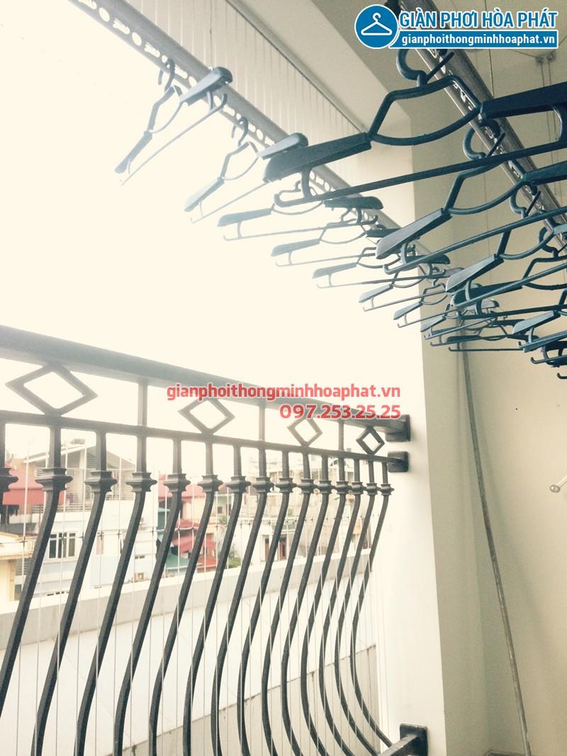 Lắp giàn phơi thông minh tại Đà Nẵng nhà chị Yến ở chung cư Phong Bắc, bộ giàn phơi HP950