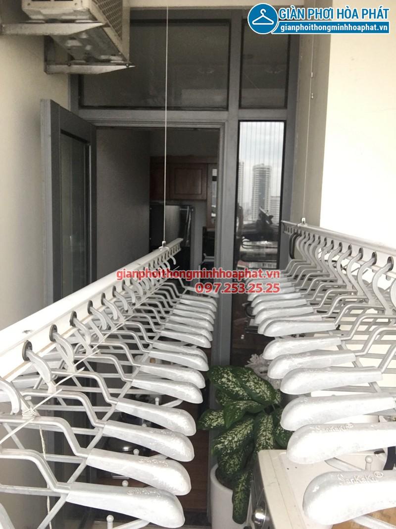 Lắp giàn phơi thông minh Thanh Hóa nhà chị Vui ở KĐT Đông Sơn - An Hoạch, bộ Sankaku SK701