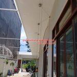 Lắp giàn phơi thông minh Vũng Tàu nhà anh Hà ở KĐT Chí Linh, bộ Hòa Phát 999B