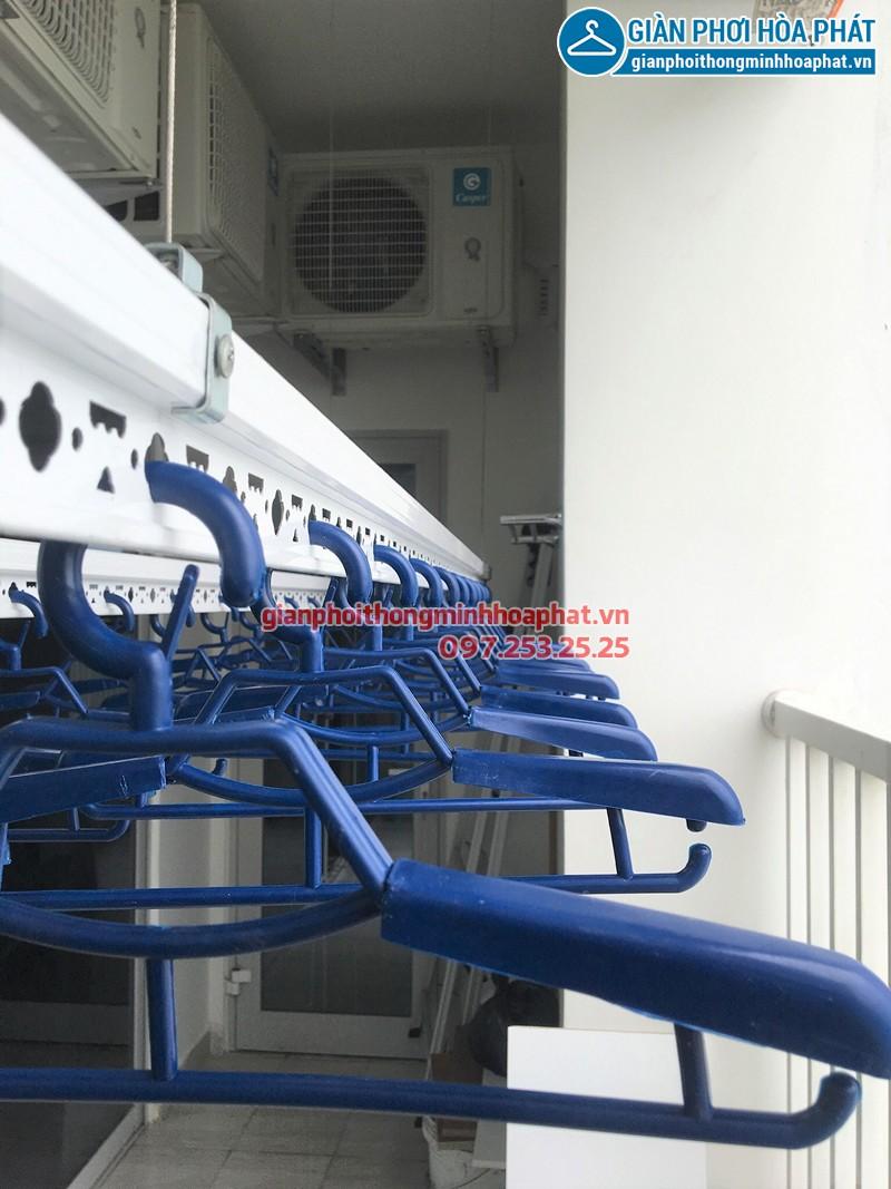 Lắp giàn phơi Từ Liêm - bộ giàn Hòa Phát Air 701 nhà chị Ngần
