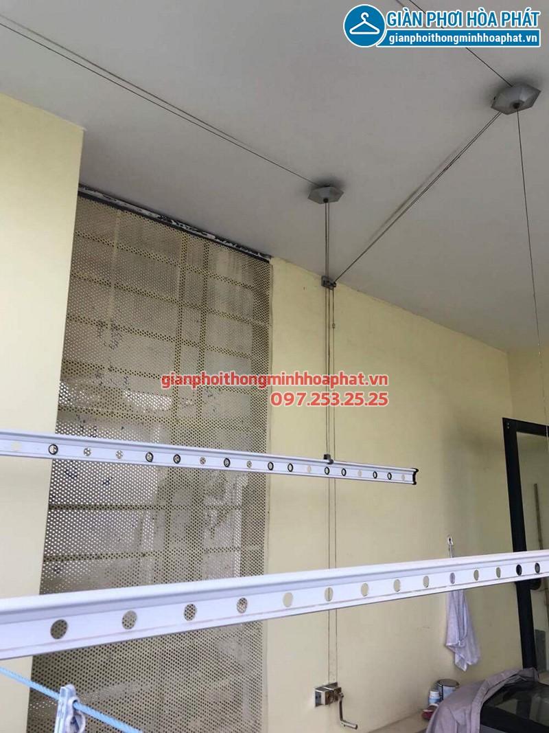 Sửa giàn phơi thông minh bị hỏng bộ tời nhà chị Trinh ở TT8 - 35 Văn Phú