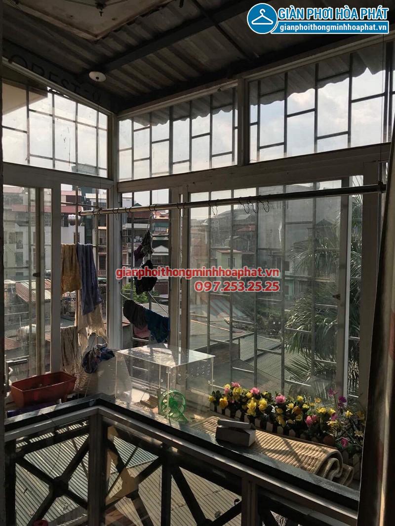 Sửa giàn phơi tại Hà Đông nhà chú Triều ở La Trọng Tấn