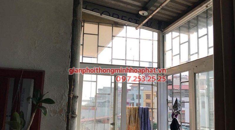 Sửa giàn phơi thông minh Hà Đông nhà chú Triều ở La Trọng Tấn