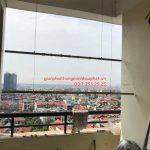 Sửa giàn phơi thông minh Hà Đông ở chung cư Viện Bỏng nhà chị Nga bị hỏng hộp quay