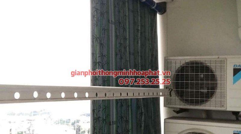 Sửa giàn phơi thông minh Hà Đông ở CT8B Dương Nội nhà anh Dương bị đứt cáp