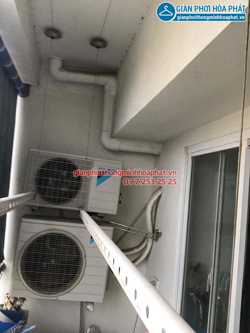 Sửa giàn phơi Hà Đông ở CT8B Dương Nội nhà anh Dương bị đứt cáp