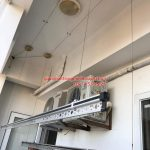 Sửa giàn phơi thông minh Hà Đông ở ngõ 210 Quang Trung nhà chú Trụ bị đứt dây cáp