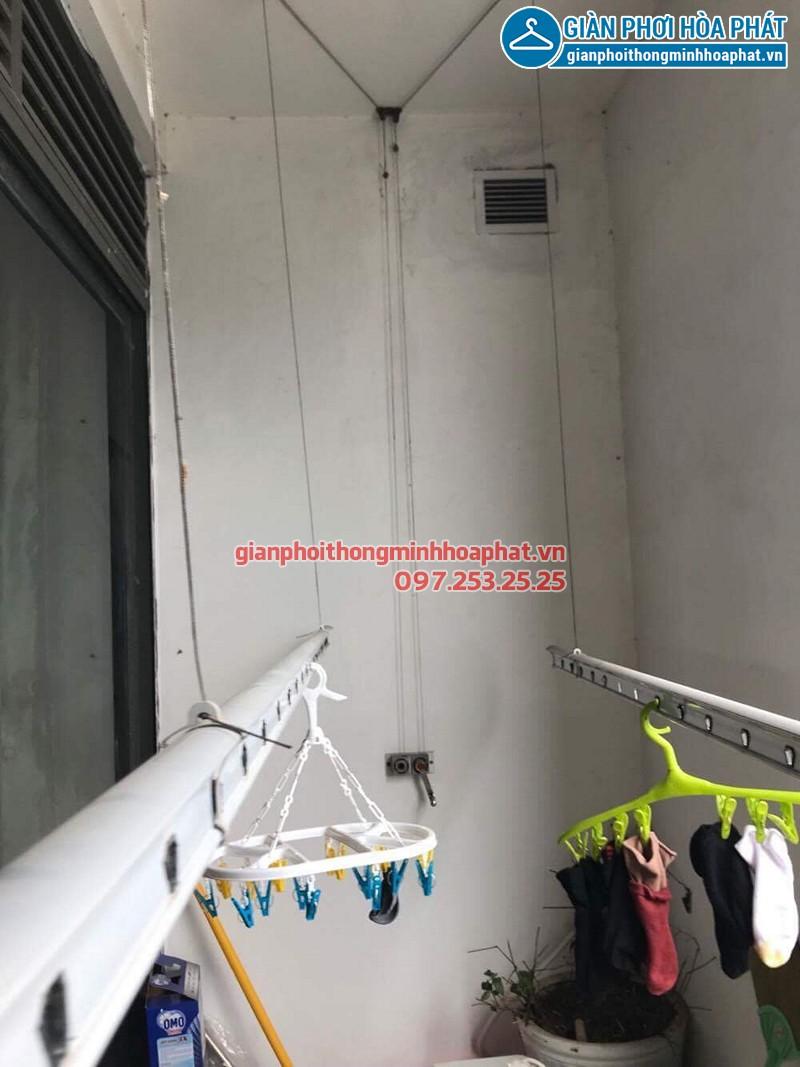 Sửa giàn phơi quần áo nhà anh Định ở CT13B Ciputra