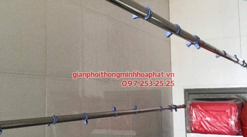 Sửa giàn phơi thông minh tại Đống Đa nhà chị Thục ở tòa M5 91 Nguyễn Chí Thanh