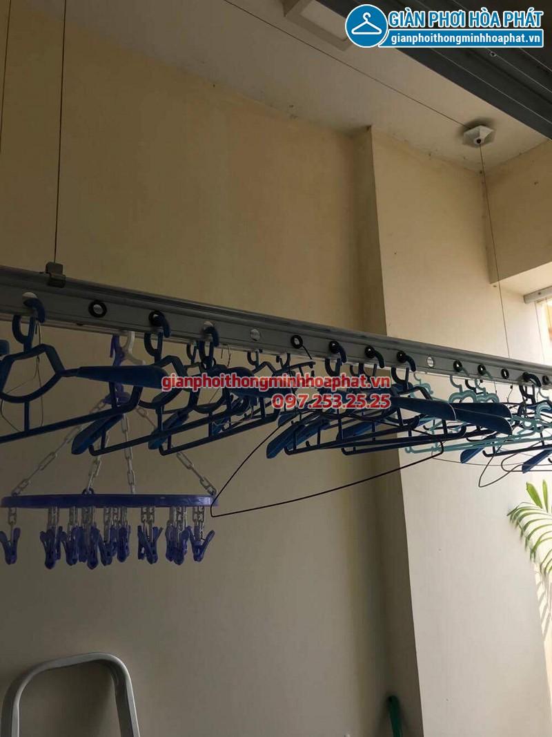 Sửa giàn phơi quần áo tại Hai Bà Trưng nhà chị Huyên ở Hòa Bình Green City