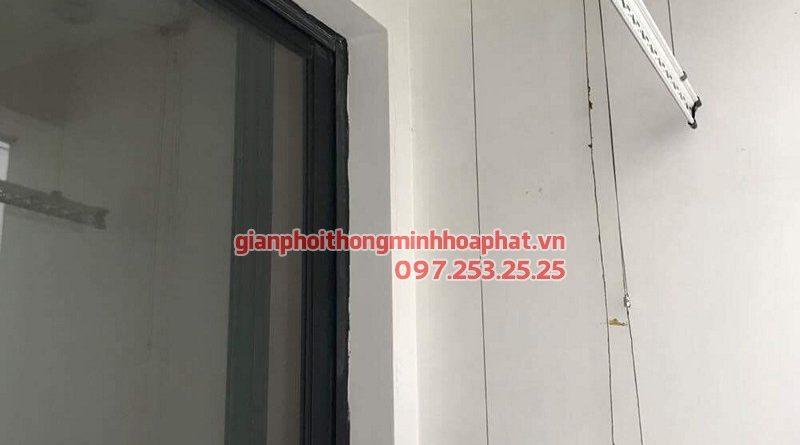 Thay dây cáp giàn phơi thông minh Hòa Phát 999B nhà chị Linh ở Quận 2, TP Hồ Chí Minh