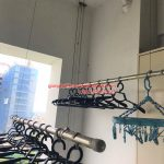 Thay dây cáp giàn phơi nhà chị Dương ở chung cư Vườn Đào 689 Lạc Long Quân
