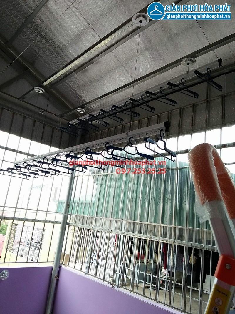 Lắp giàn phơi Cầu Giấy nhà chị Thúy ở ngõ 16, tổ 17 Khu Trường ĐH Sân khấu Điện ảnh