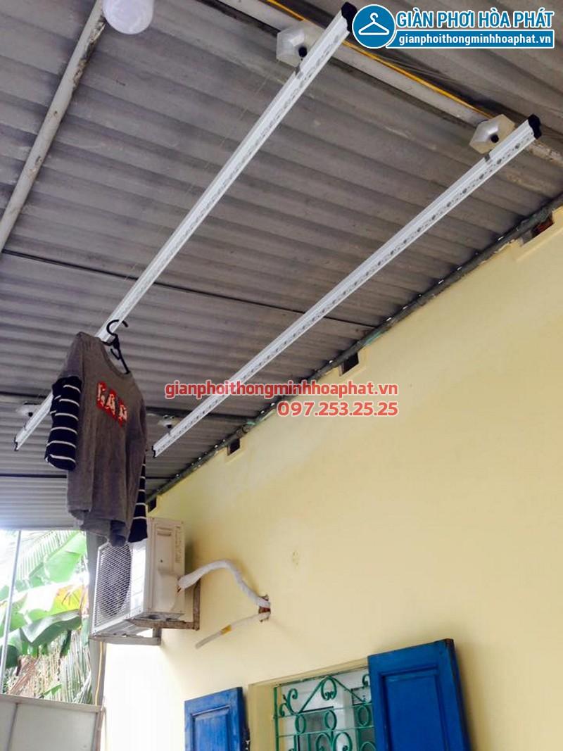 Lắp giàn phơi Thái Hòa, Nghệ An nhà cô Tâm
