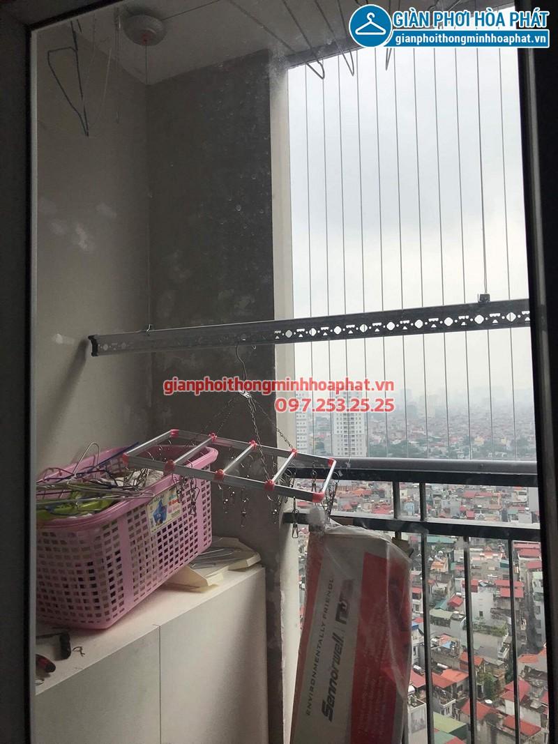 Lắp giàn phơi Thanh Xuân nhà chú Hữu ở Star Tower 283 Khương Trung