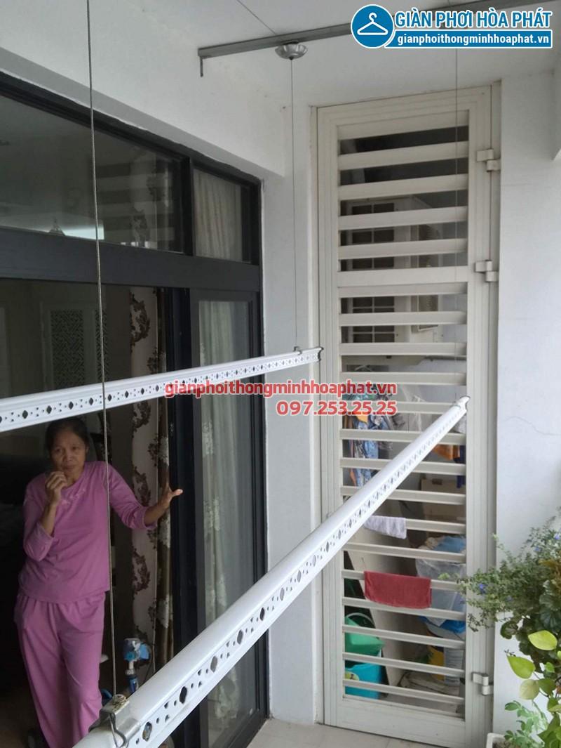 Lắp giàn phơi Thanh Xuân ở Royal City nhà cô Tám